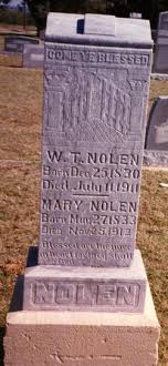 "Mary ""Polly"" Kennedy Nolen (1833-1912) - Find A Grave Memorial"