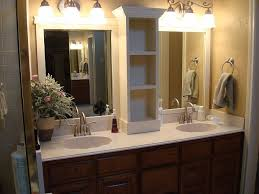 how to make a large bathroom mirror