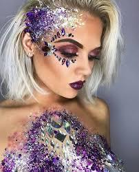 glitter makeup artist face painting