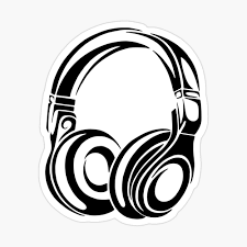 Tribal Headphones Design Music Beats Metal Print By Jshcreates Redbubble