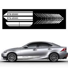 For Lexus Es200 Car Side Body Decal Stickers For Hatchback Sedan Car Decals Diy Car Decoration Stickers Auto Accessories 200cm Car Stickers Aliexpress