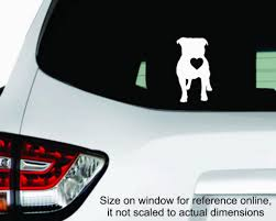 Pitbull Love Terrier Sticker Decal Dog K9 Cat Pet Puppy Car 4x4 Truck Street Fx Motorsport Graphics