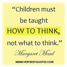 early childhood education quotes children must be taught how to