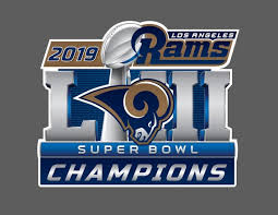 Los Angeles Rams 2019 Super Bowl Liii 53 Champions Wall Decal Etsy