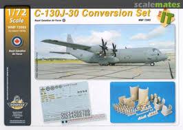 1 72 Canadian Forces Rcaf C130j 30 Hercules Decals For Italeri Model