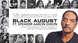 ABQ Forum: Black August & Prison Strikes | Ft. Speaker Aaron Dixon - PSL