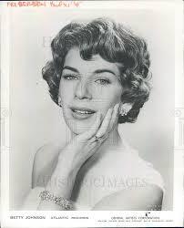 1959, Betty Johnson pop singer recordings | Historic Images