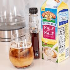 lactose free maple iced coffee twin