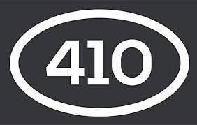 Amazon Com 410 Area Code Sticker Maryland Baltimore Annapolis Arbutus City Pride Vinyl Decal Sticker Car Waterproof Car Decal Bumper Sticker 5 Kitchen Dining