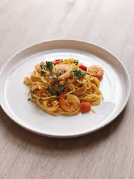 Seafood Pasta with Uni Butter — Cinder ...