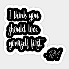 bts rm quotes love yourself bts quotes sticker teepublic