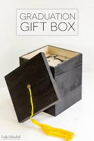 diy graduation gift box tutorial