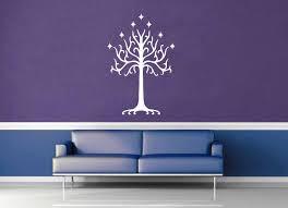 White Tree Of Gondor Tolkien Wall Decal Geekerymade