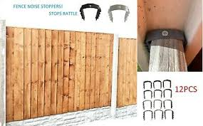 Noise Rattle Stoppers For Garden Fence Panels Wind Stoppers 12pcs Ebay