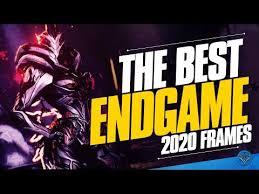 warframe top 5 best endgame frames to