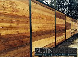 Horizontal Cedar With Mild Steel Frame Though This Fence Looks Great Now The End Goal Is A Natural Rusty Met Fence Design Privacy Fence Designs Fence Styles