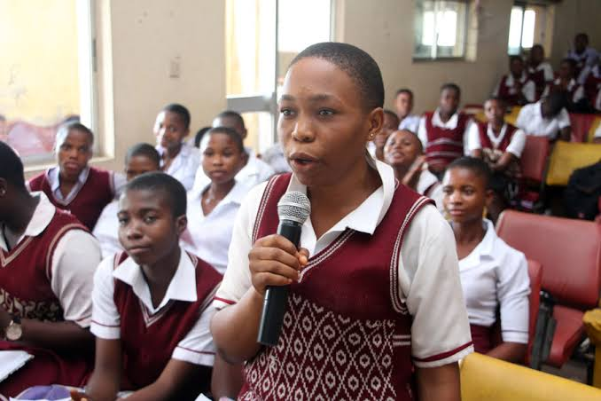 Image result for secondary school students in nigeria""