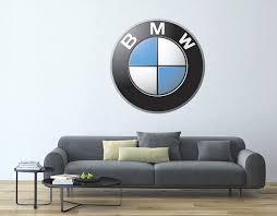 Amazon Com West Mountain Inc Bmw Car Logo Wall Decal Sticker Clothing