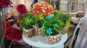 اجمل التحف والاواني والزهور الملونة تشكيلة من التحفيات والهدايا