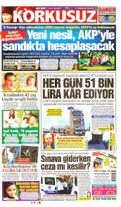 Pin on Gazete 1. Sayfaları - Manşetler