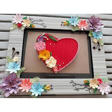 beautiful handmade picture frame