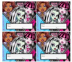 Las Mas Lindas Invitaciones Para Tu Fiesta Monster High Fiesta101