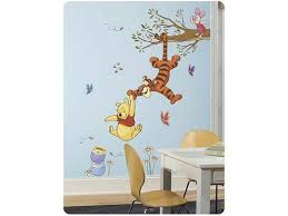 Winnie The Pooh Swinging For Honey Peel And Stick Wall Decal Newegg Com