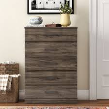 5 Drawer Chest Dresser Espresso Bedroom Teens Kids Room Furniture Brown Laminate