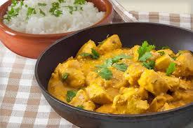 Poulet au curry et lait de coco cookeo - recette cookeo facile.