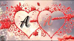 حالات حرف A و A حالات حب رومنسية عشاق حرف A اجمل حالات حب