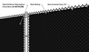Premium Woven Poly Privacy Fence Screen
