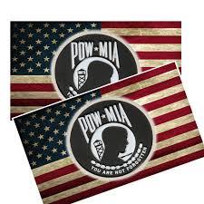 Pow Mia Marine Decal Brotherhood Products