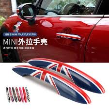 Car Door Handle Shell Protected Cover Sticker Decal For Bmw Mini Cooper Jcw One F56 F57 Car Styling Accessories Aliexpress