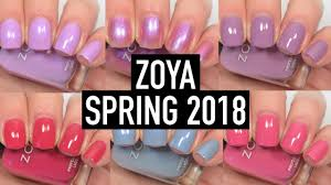 zoya thrive spring 2018 swatch