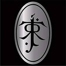 Amazon Com Cove Signs J R R Tolkien Decal Sticker Silver 4 Automotive