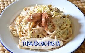 Filipino Tuna Adobo Pasta - The Not So ...