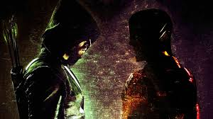 49 arrow and flash hd wallpaper on