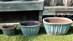 rustic wheaton pottery large outdoor