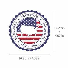 United States Flag Sticker Us Usa Map Decal Vinyl For Car Bike Travel Bag Laptop Unbranded In 2020 Chicago Cubs Logo United States Flag Sport Team Logos