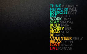 think network exercise eat work hd backgrounds