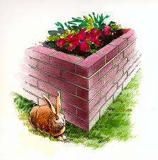 brick raised bed better homes gardens