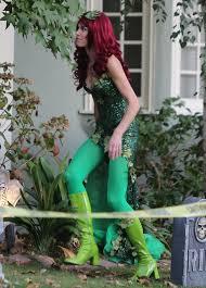 Brooke Burns - Brooke Burns Photos - Brooke Burns Dresses Up as Poison Ivy  - Zimbio