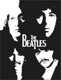 The Beatles Logo With Faces Vinyl Decal Siluet Inspirasi Desain Grafis Grafis