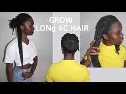 grow your 4c hair to waist length