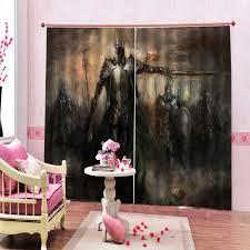 Marvel Iron Man Drapes Window Blackout Curtains Children S Room Curtains Home Drapes Curtains Aliexpress