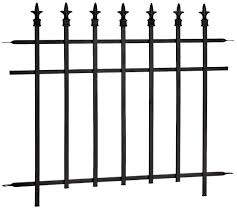 Finial Fence Panel 30 In X 37 In Canadian Tire