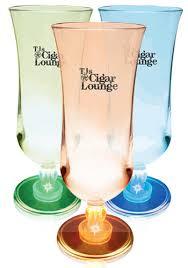 personalized plastic hurricane glasses