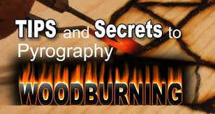 pyrography wood burning tips and tools