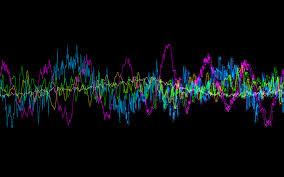 best 57 sound waves desktop background