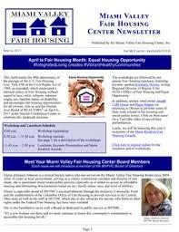 Old News The Miami Valley Fair Housing Center